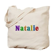 Natalie Shiny Colors Tote Bag