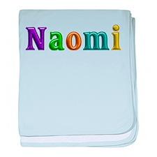 Naomi Shiny Colors baby blanket