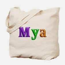Mya Shiny Colors Tote Bag