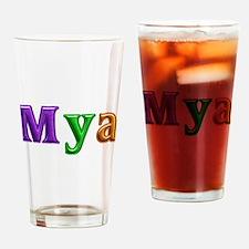 Mya Shiny Colors Drinking Glass