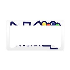 N64 Magazine  License Plate Holder