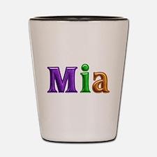 Mia Shiny Colors Shot Glass