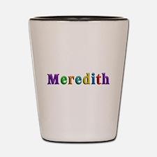 Meredith Shiny Colors Shot Glass
