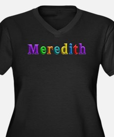 Meredith Shiny Colors Plus Size T-Shirt