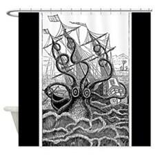 Octopus Attack Shower Curtain