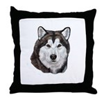 Malamute Adult Throw Pillow