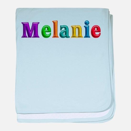 Melanie Shiny Colors baby blanket