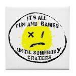 Fun & Games Tile Coaster