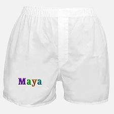 Maya Shiny Colors Boxer Shorts