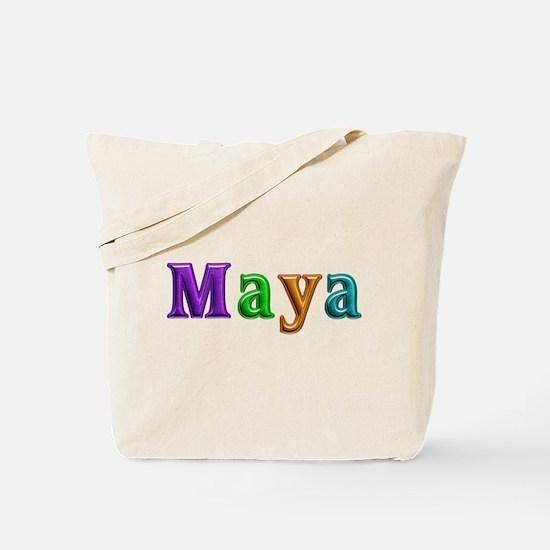 Maya Shiny Colors Tote Bag