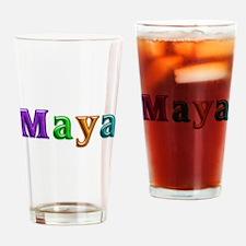 Maya Shiny Colors Drinking Glass