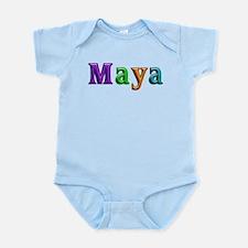 Maya Shiny Colors Body Suit