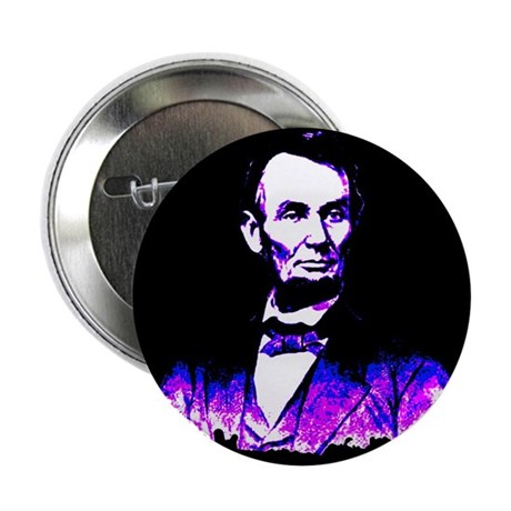 "President Abe Lincoln 2.25"" Button (10 pack)"