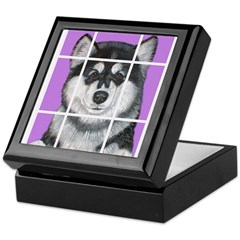 How much is that Mal Puppy in Keepsake Box