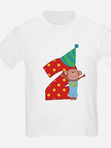 2nd Birthday Dino T-Shirt