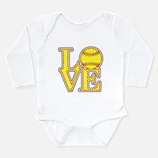 Love Softball Original Body Suit