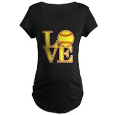 Love Softball Original Maternity T-Shirt