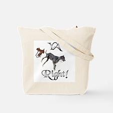 Saddle? Dane? Tote Bag