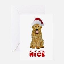 Nice Goldendoodle Greeting Card