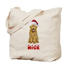 Nice Goldendoodle Tote Bag