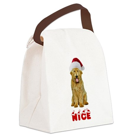 Nice Goldendoodle Canvas Lunch Bag