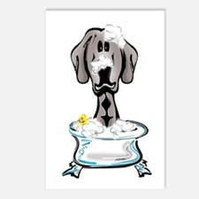 Rub-a-Dub Weimaraner Postcards (Package of 8)
