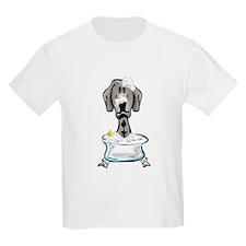 Rub-a-Dub Weimaraner Kids T-Shirt