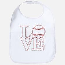 Love Baseball Classic Bib