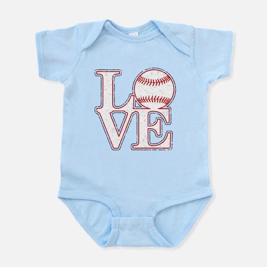 Love Baseball Classic Body Suit
