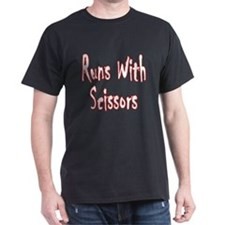 """Runs With Scissors"" T-Shirts"