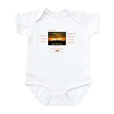 I Am The Resurrection 1 Infant Bodysuit
