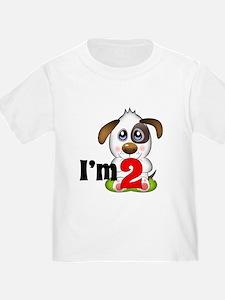 2nd Birthday Puppy T