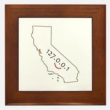 California is IT! Framed Tile