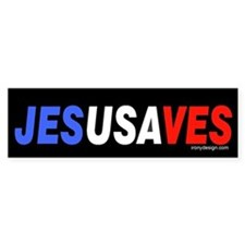 Jesus Saves Bumper Bumper Sticker