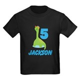 5 yr old boy birthday Kids T-shirts (Dark)