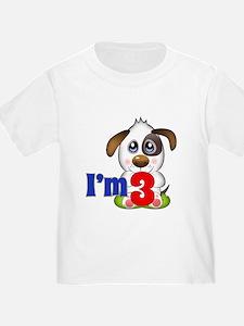 3rd Birthday Puppy T