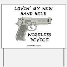 Wireless Device Yard Sign