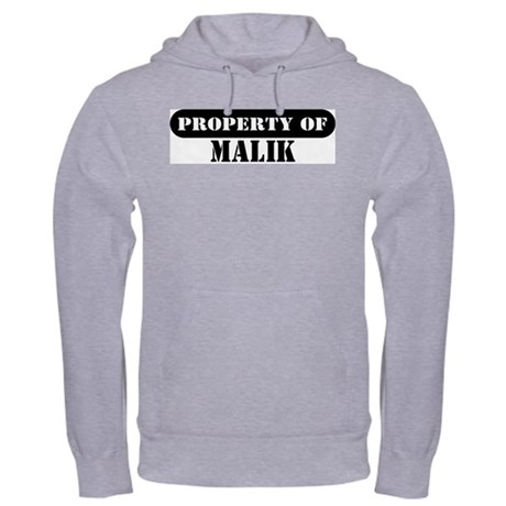 Property of Malik Hooded Sweatshirt