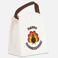 Happy Thanksgiving! Canvas Lunch Bag