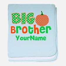 Big Brother Pumpkin baby blanket