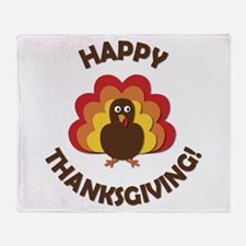 Happy Thanksgiving! Throw Blanket