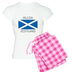 Alloa Scotland Women's Light Pajamas