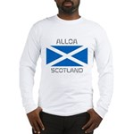 Alloa Scotland Long Sleeve T-Shirt