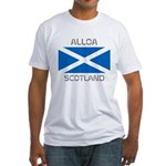 Alloa Scotland Fitted T-Shirt
