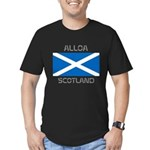 Alloa Scotland Men's Fitted T-Shirt (dark)