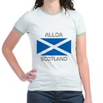 Alloa Scotland Jr. Ringer T-Shirt
