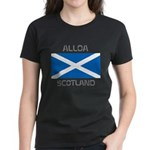 Alloa Scotland Women's Dark T-Shirt
