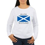 Alloa Scotland Women's Long Sleeve T-Shirt