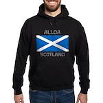 Alloa Scotland Hoodie (dark)