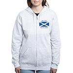 Alloa Scotland Women's Zip Hoodie